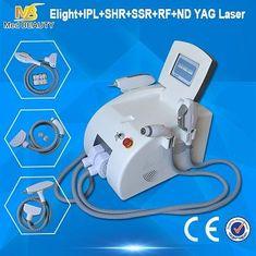 चीन हाई पावर बालों को हटाने मशीन आईपीएल आरएफ एन डी YAG लेजर स्थायी आपूर्तिकर्ता