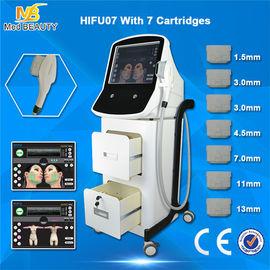 चीन 1000W HIFU शिकन हटाने उच्च तीव्रता केंद्रित अल्ट्रासाउंड मशीन वितरक
