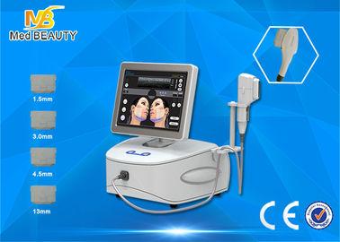 चीन पेशेवर उच्च तीव्रता चेहरा लिफ्ट के लिए अल्ट्रासाउंड HIFU मशीन केंद्रित वितरक